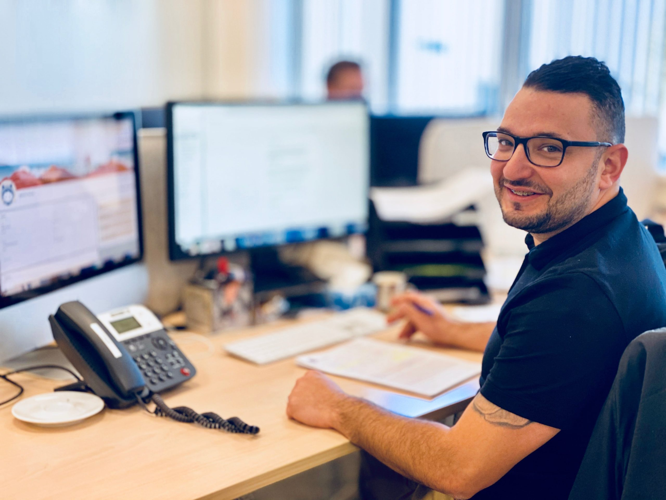 Accountmanager Johan